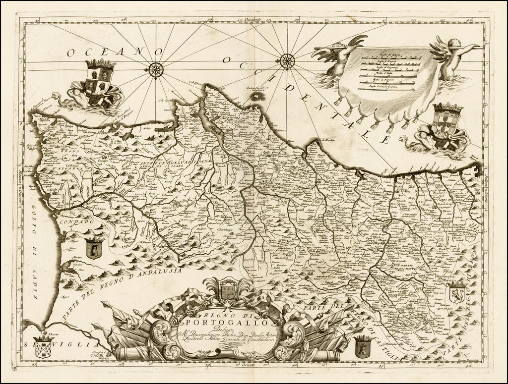 Regno Di Portugallo . . .  By Vincenzo Maria Coronelli