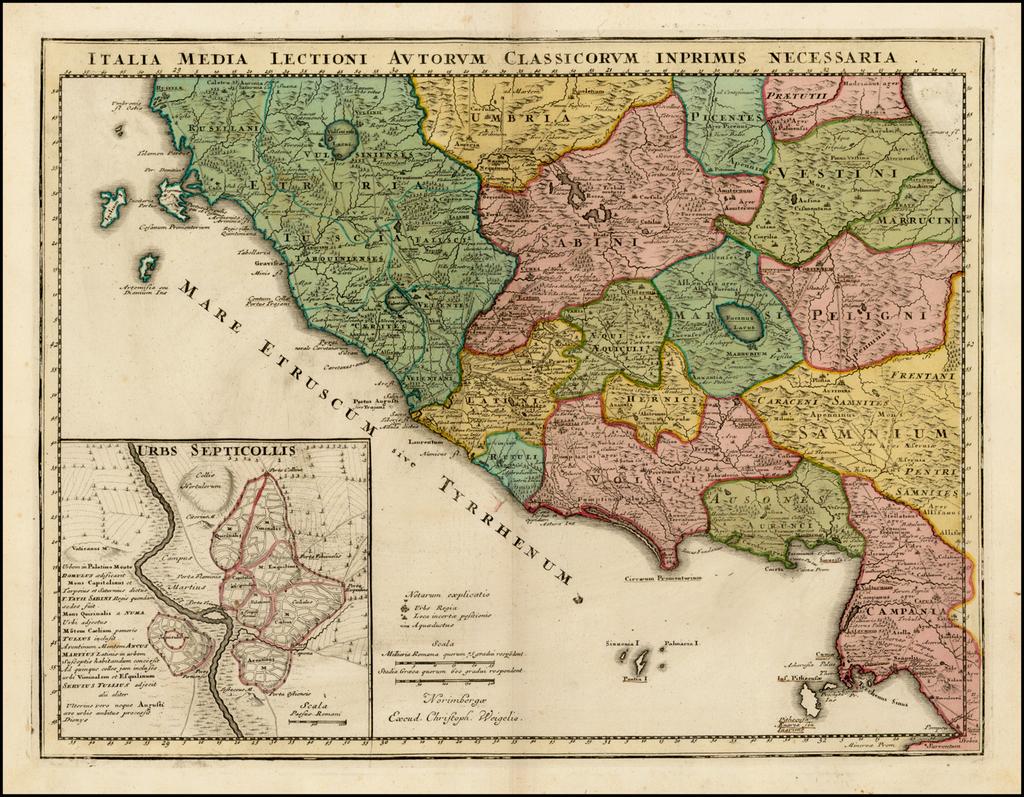 Italia Medi Lectioni Autorum Classicorum Inprimis Necessaria By Christopher Weigel