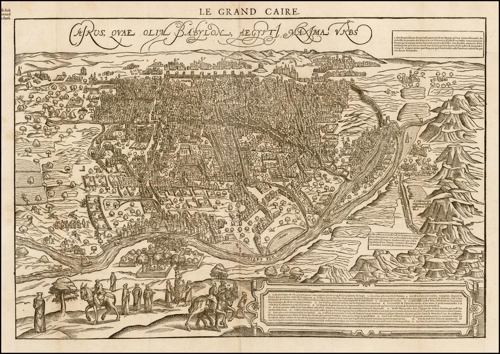 Cairus, Quae Olim Babylon Aegypt Maxima Urbs By Francois De Belleforest