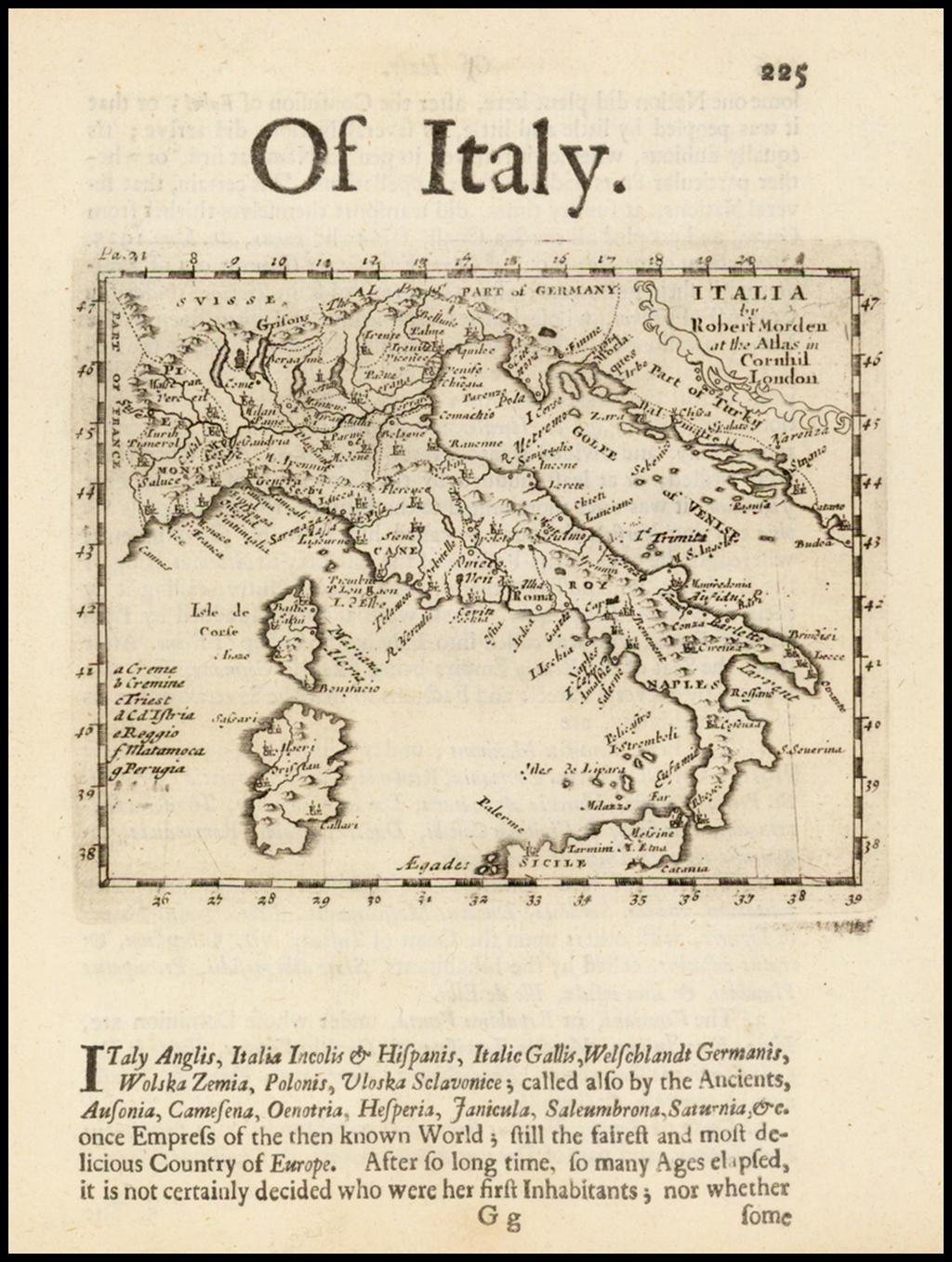 Italia By Robert Morden