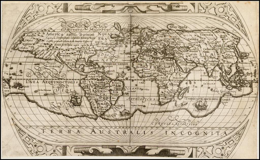 [Untitled Map of the World] By Ephraim Pagitt