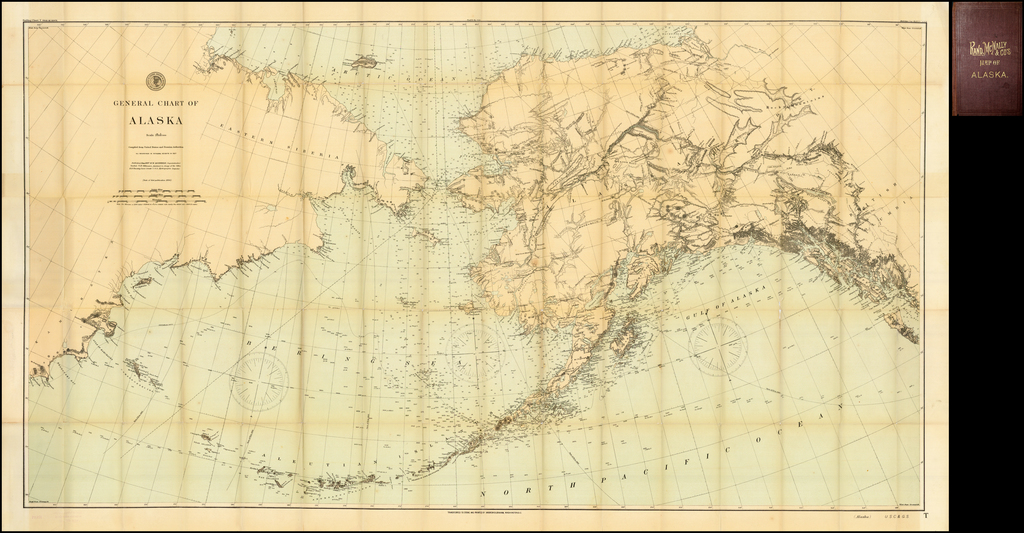 General Chart of Alaska.  Compiled from United States and Russian Authorities. Published in June 1897 . . .  / Rand McNally & Co's Map of Alaska By Rand McNally & Company / Andrew B. Graham