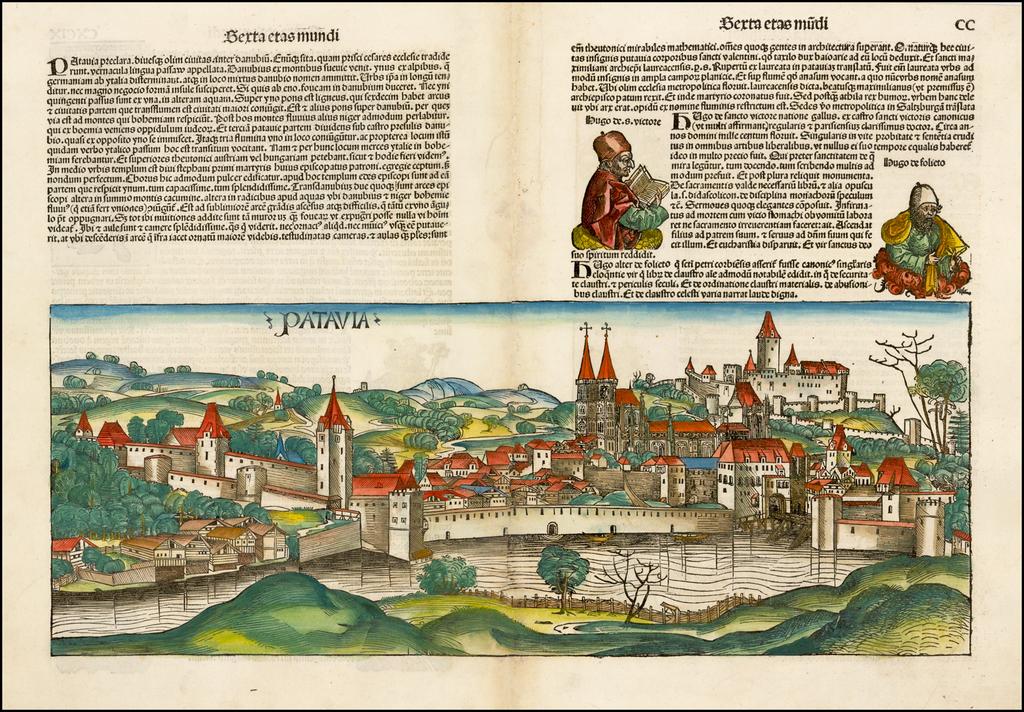 Patavia (Passau) By Hartmann Schedel