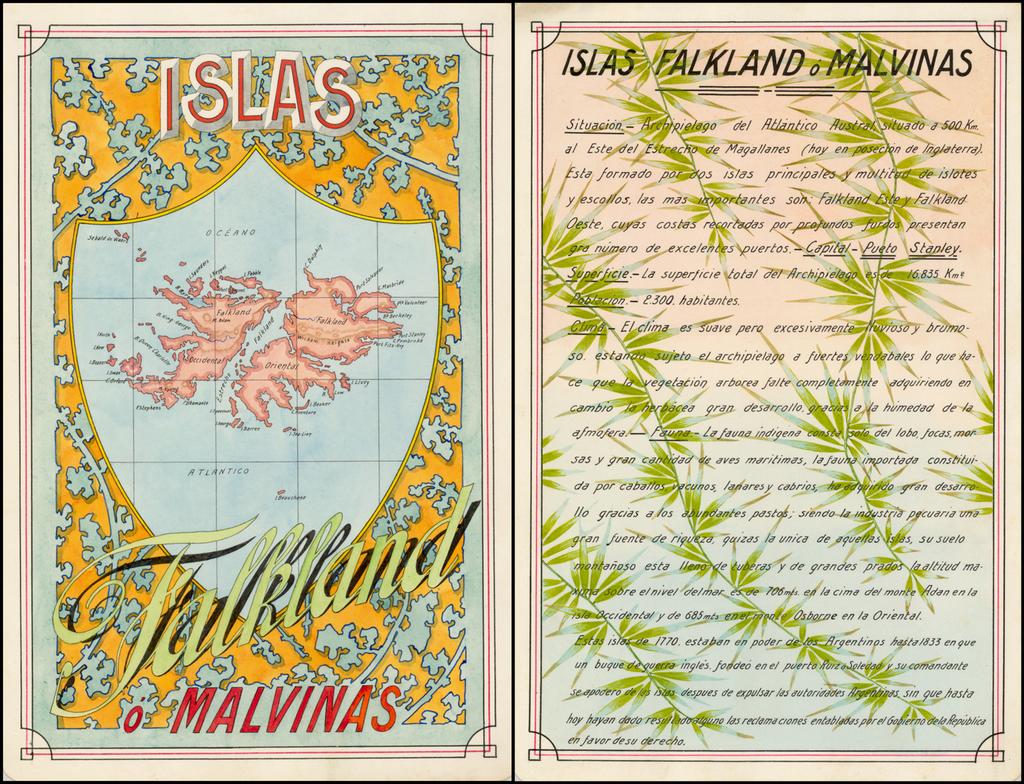 Islas Falklands o Mavinas By Antonio F. Raggio