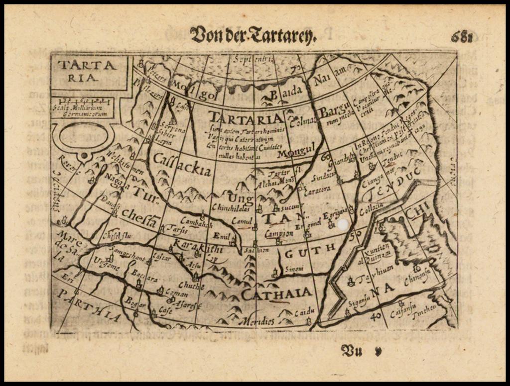 Tartaria By Barent Langenes