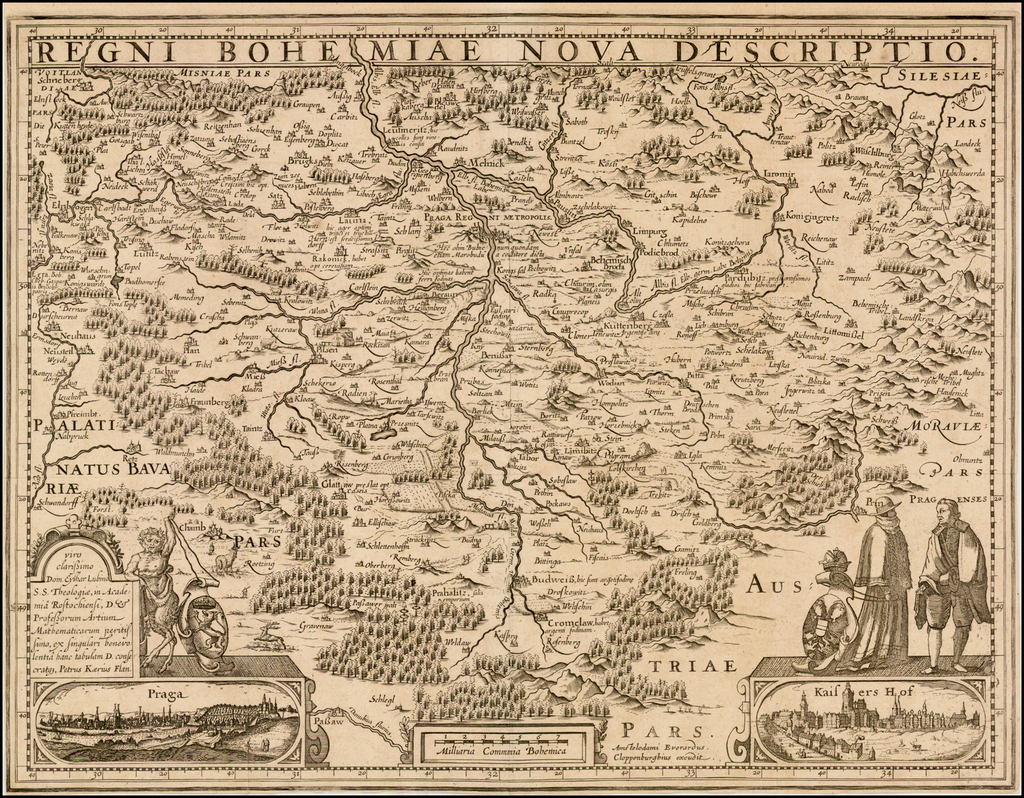 Regni Bohemiae Nova Descriptio By Johannes Cloppenburg