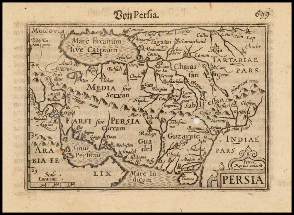 Persia By Barent Langenes