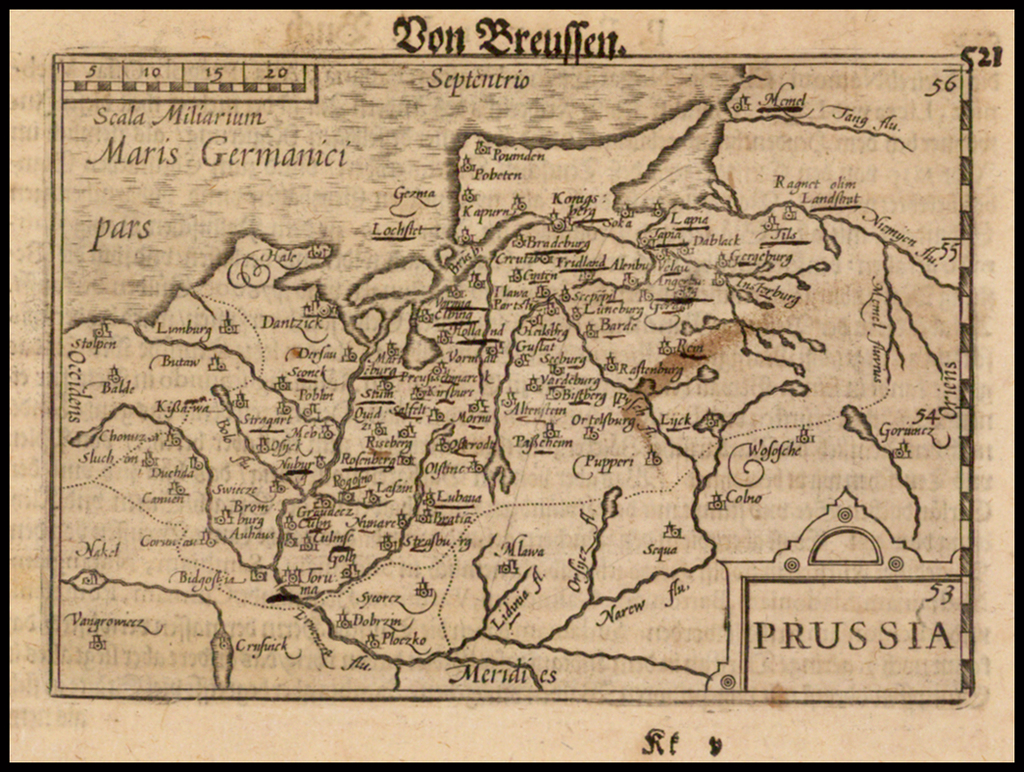 Prussia By Barent Langenes
