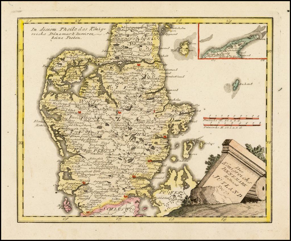 Des Konigreichs Daenemark Halbinsel Jutland . . . By Franz Johann Joseph von Reilly