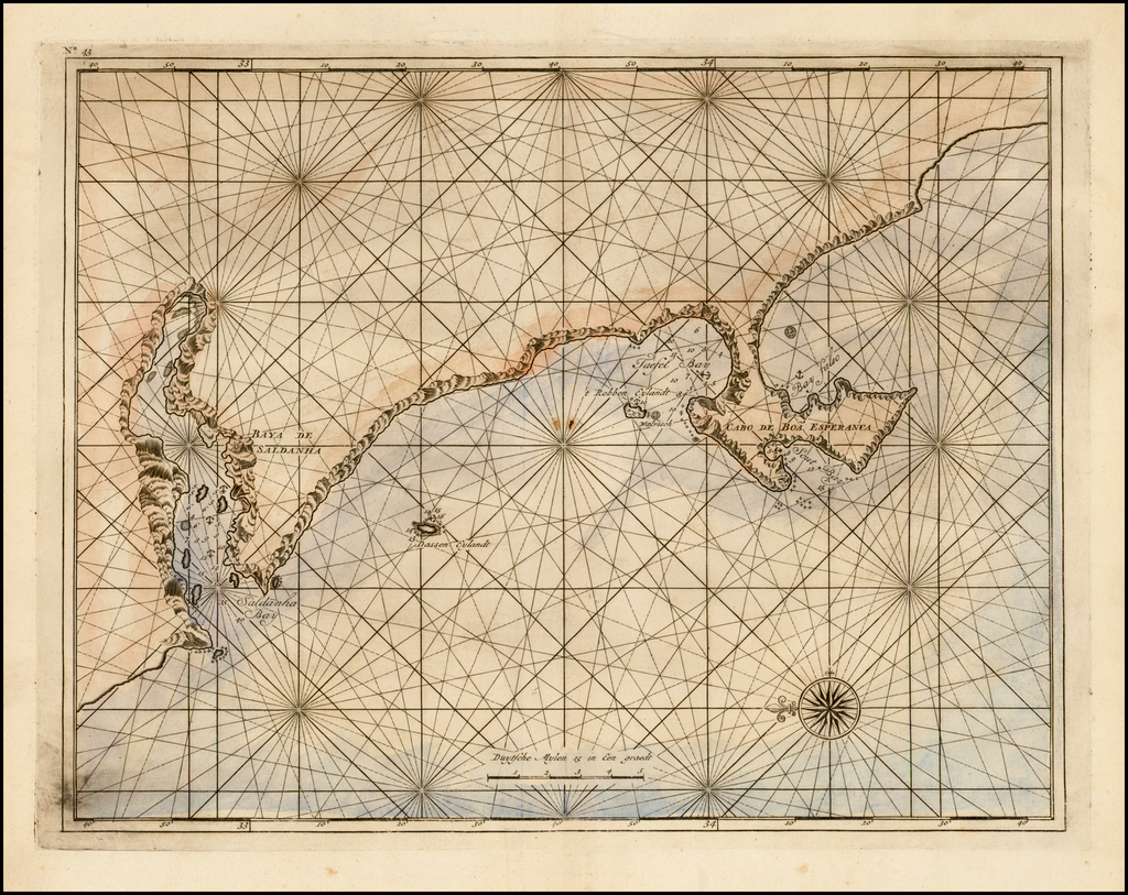 [Cape of Good Hope, South Africa] By Francois Valentijn