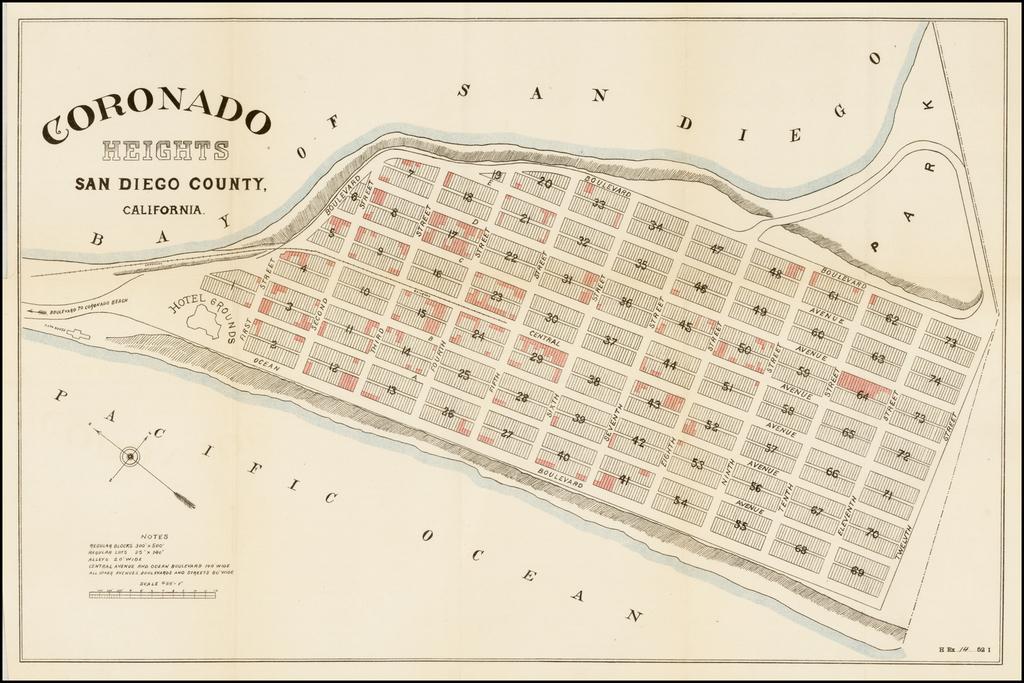 Coronado Heights. San Diego County, California. By United States GPO