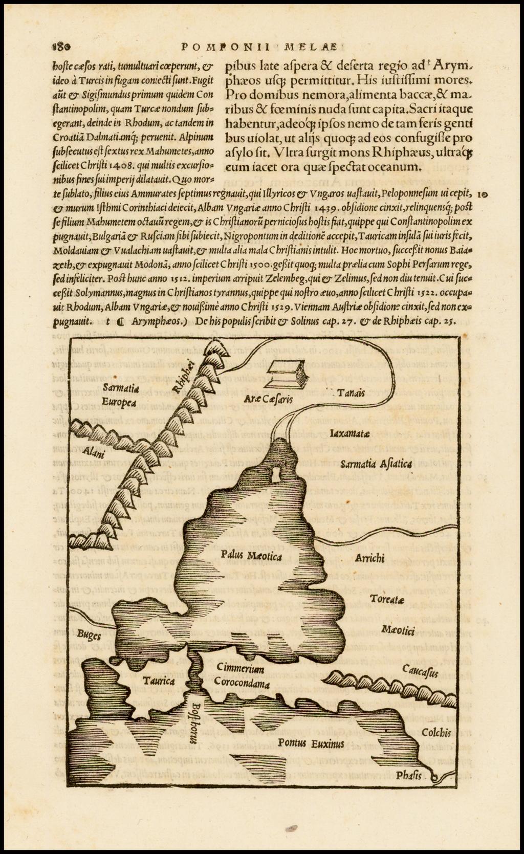 [Bosphorus Straits, Black Sea, Sea of Marmora] By Caius Julius Solinus