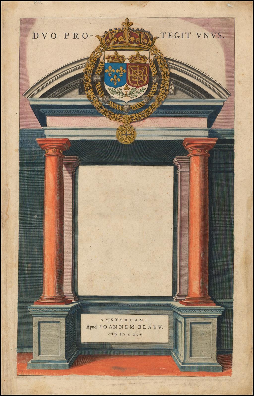 [Title Page]   By Willem Janszoon Blaeu