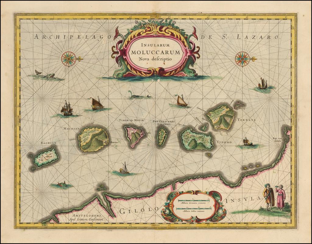 Insularum Moluccarum Nova Descriptio By Jan Jansson
