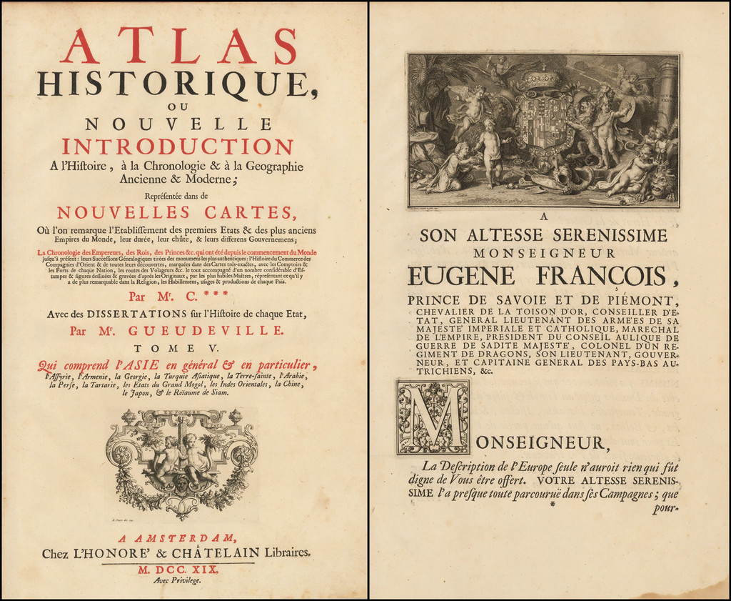 [Title Page]  Title & Dedication Pages By Henri Chatelain