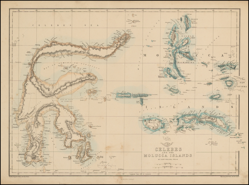 Celebes and the Molucca Islands By Edward Weller