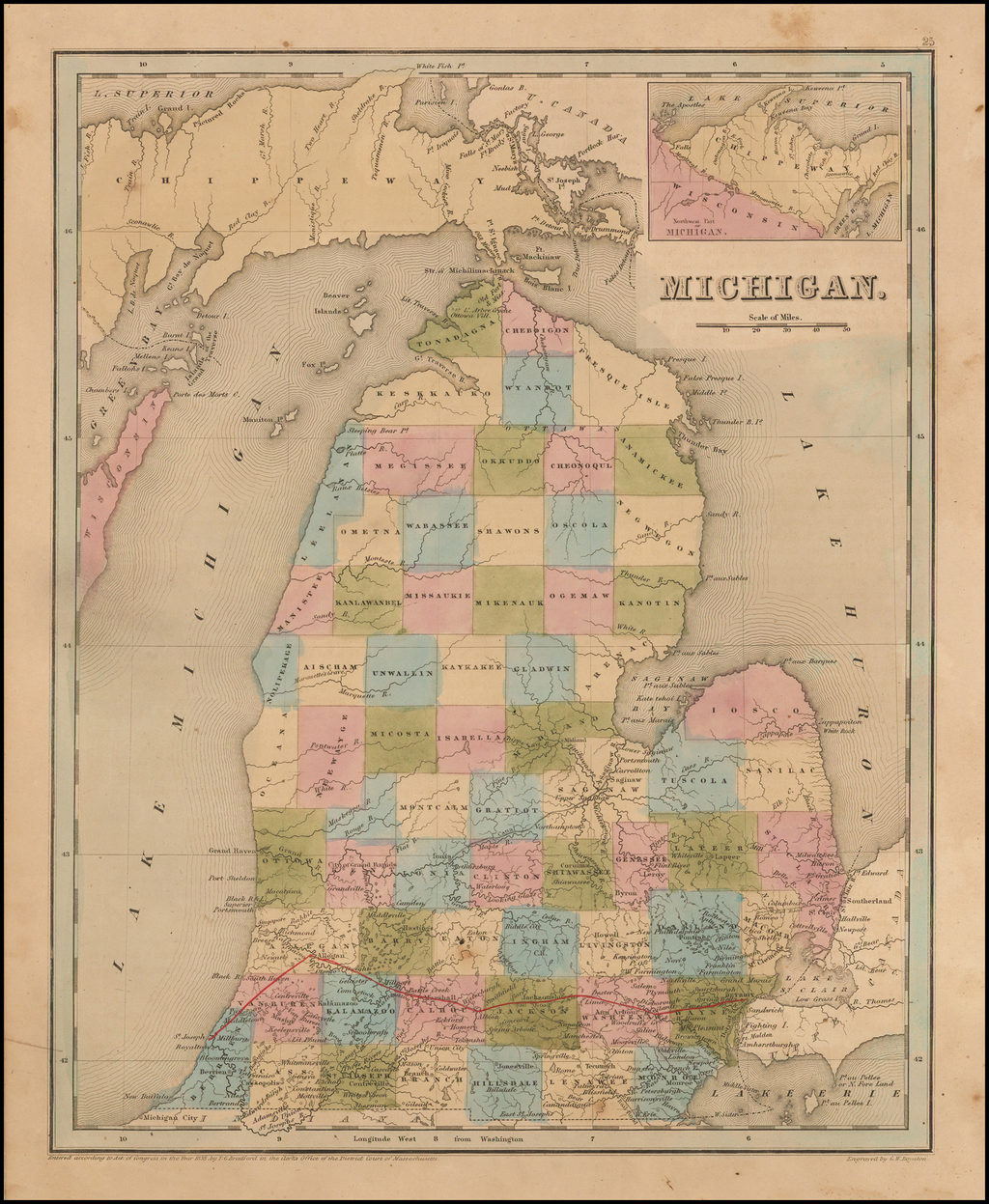 Michigan By Thomas Gamaliel Bradford