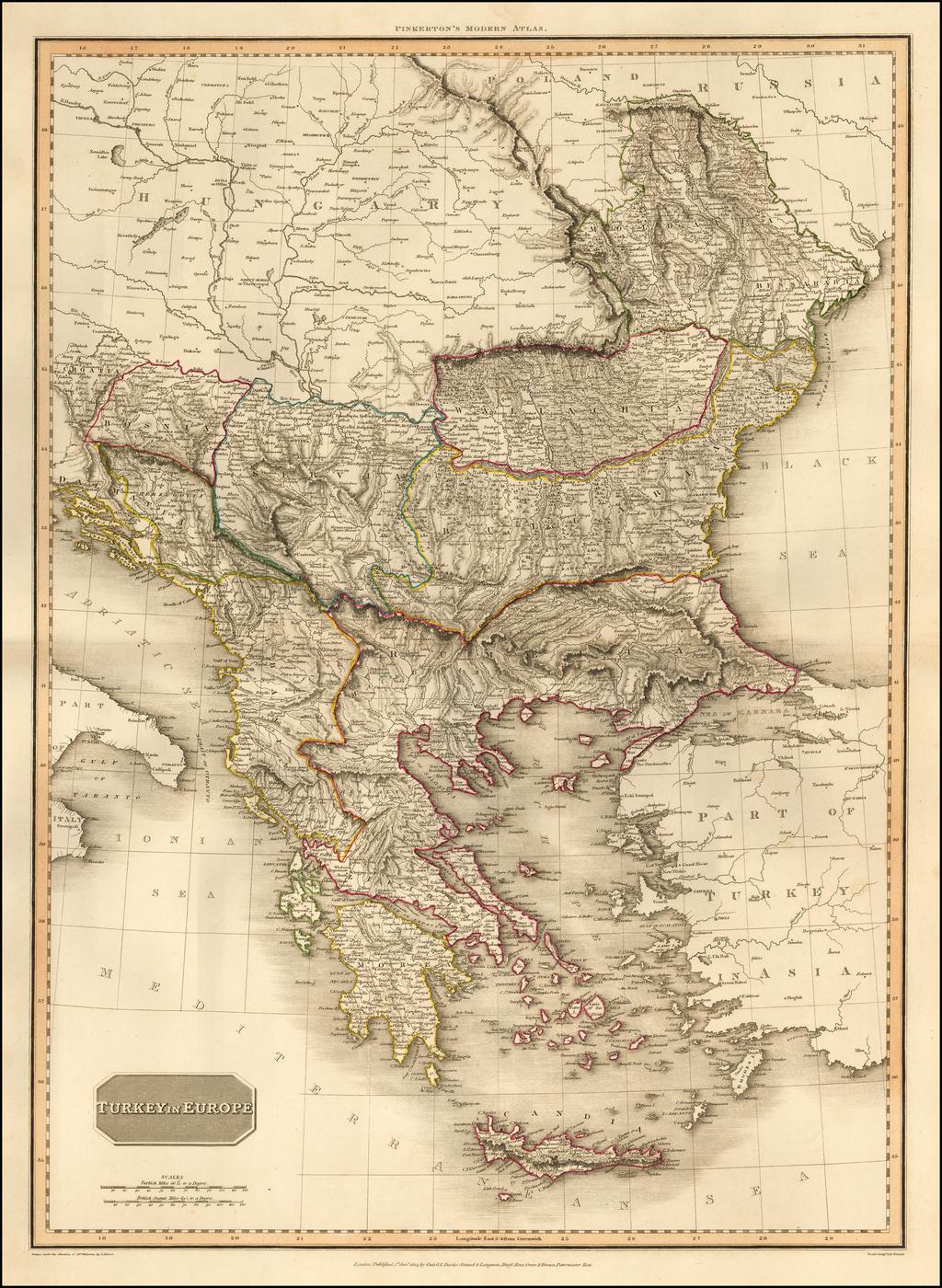 Turkey In Europe By John Pinkerton