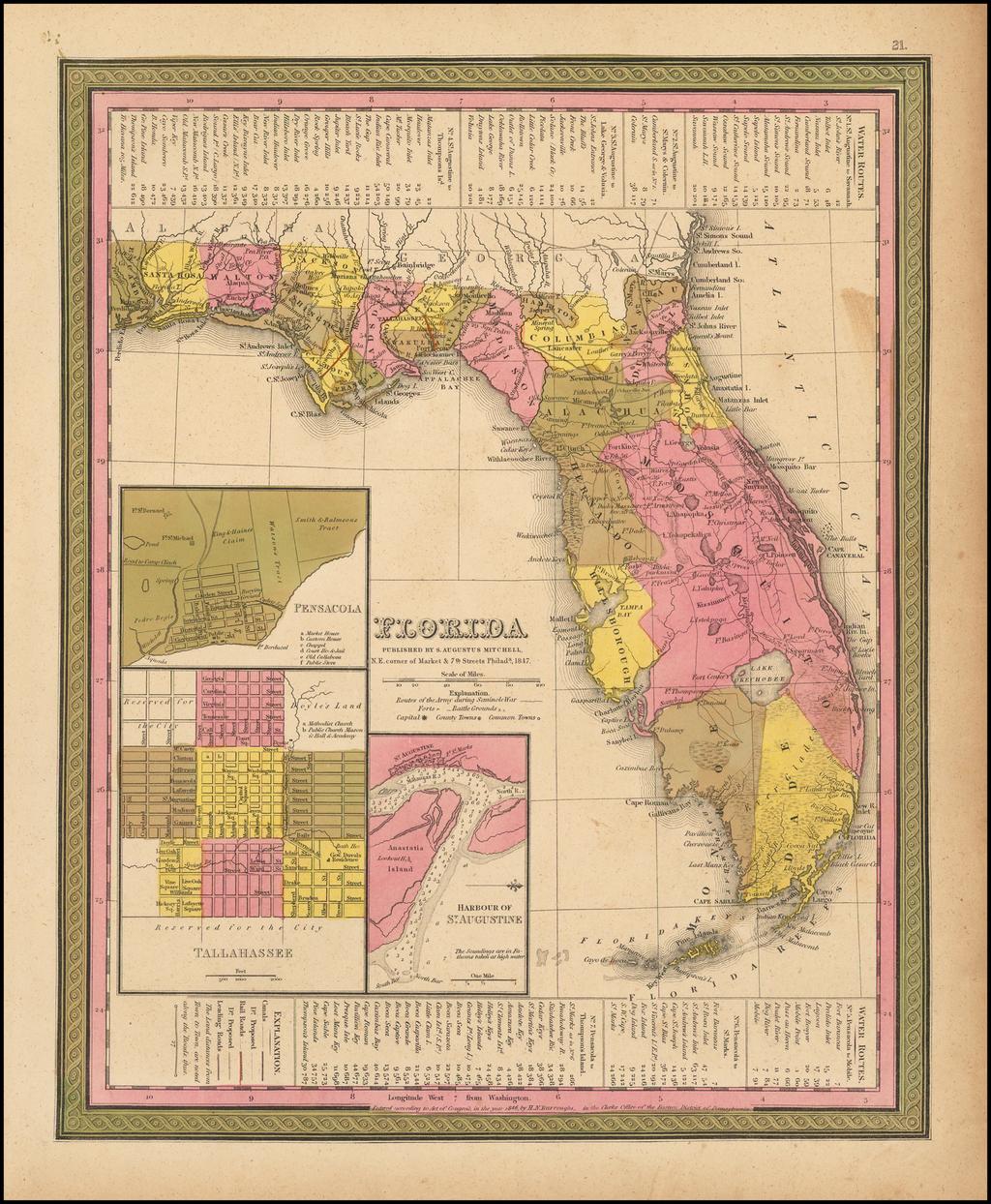 Florida . . .  By Samuel Augustus Mitchell