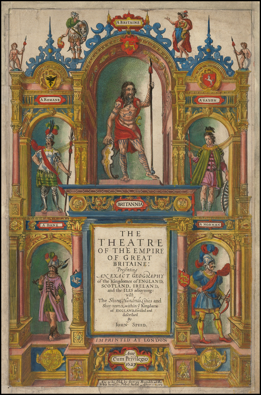 [Title Page] The Theatre of The Empire of Great Britaine . . . By Iohn Speed  By John Speed