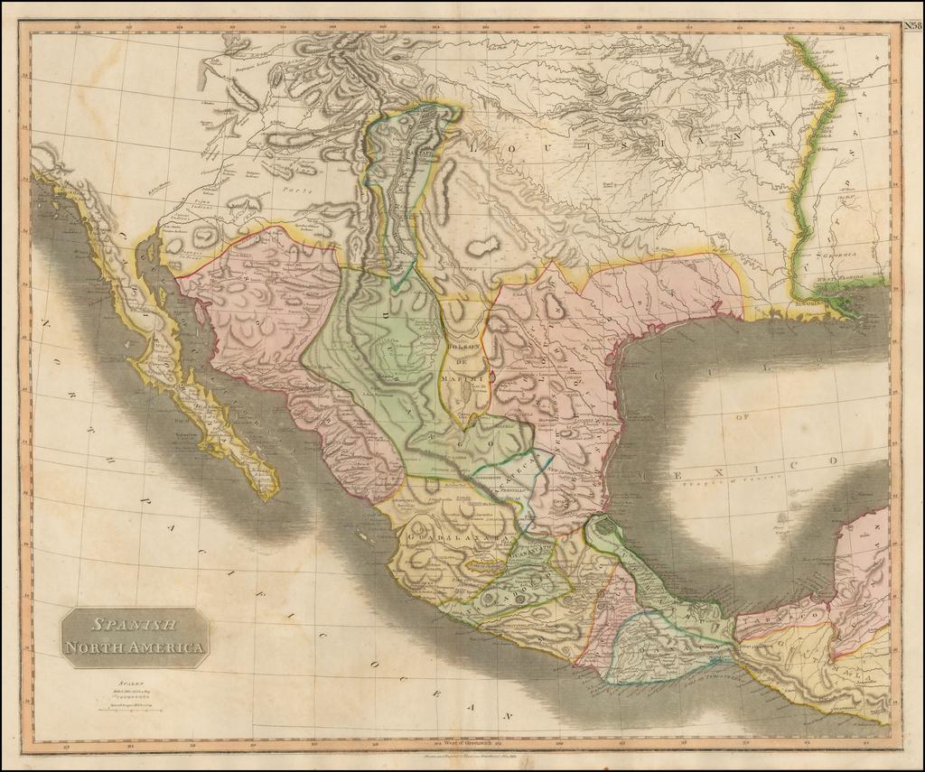 Spanish North America By John Thomson