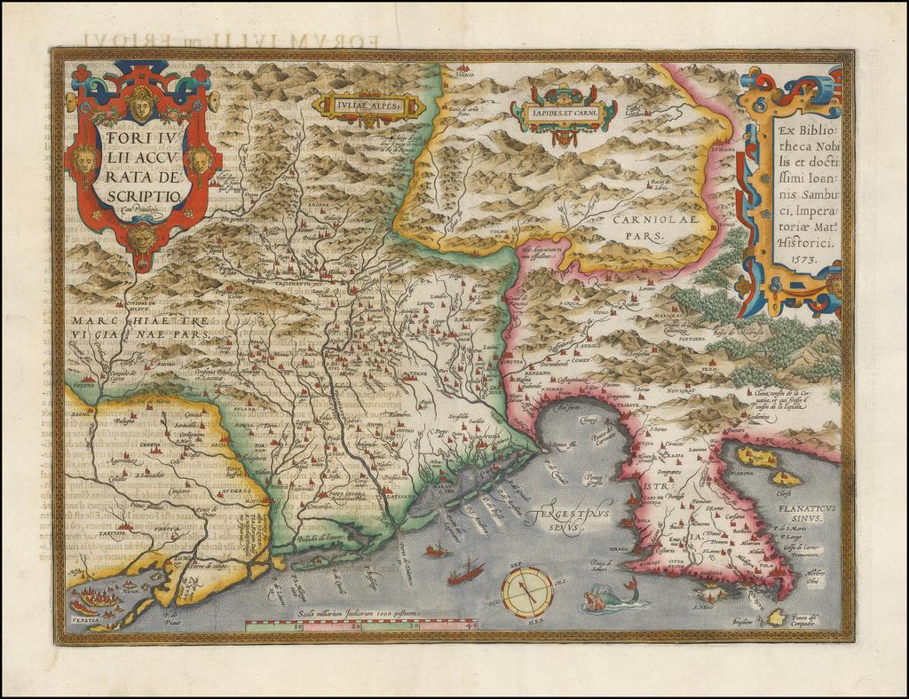 Fori Iulii Accurata Descriptio By Abraham Ortelius