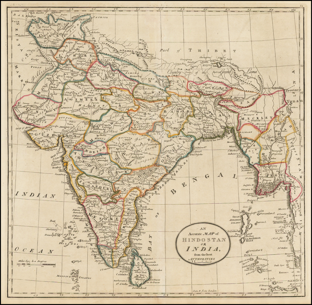 An Accurate Map of Hindostan and India, from the best ... on india london map, india travel map, india border art, india floral designs, india wall map, india watershed map, india henna map, india landscape map, india and pakistan border dispute, india caste system map, bangladesh map, india world heritage sites map, india bangladesh border, india center map, india green map, india solid map, india clear map, india base map, india city map, india boundary map,