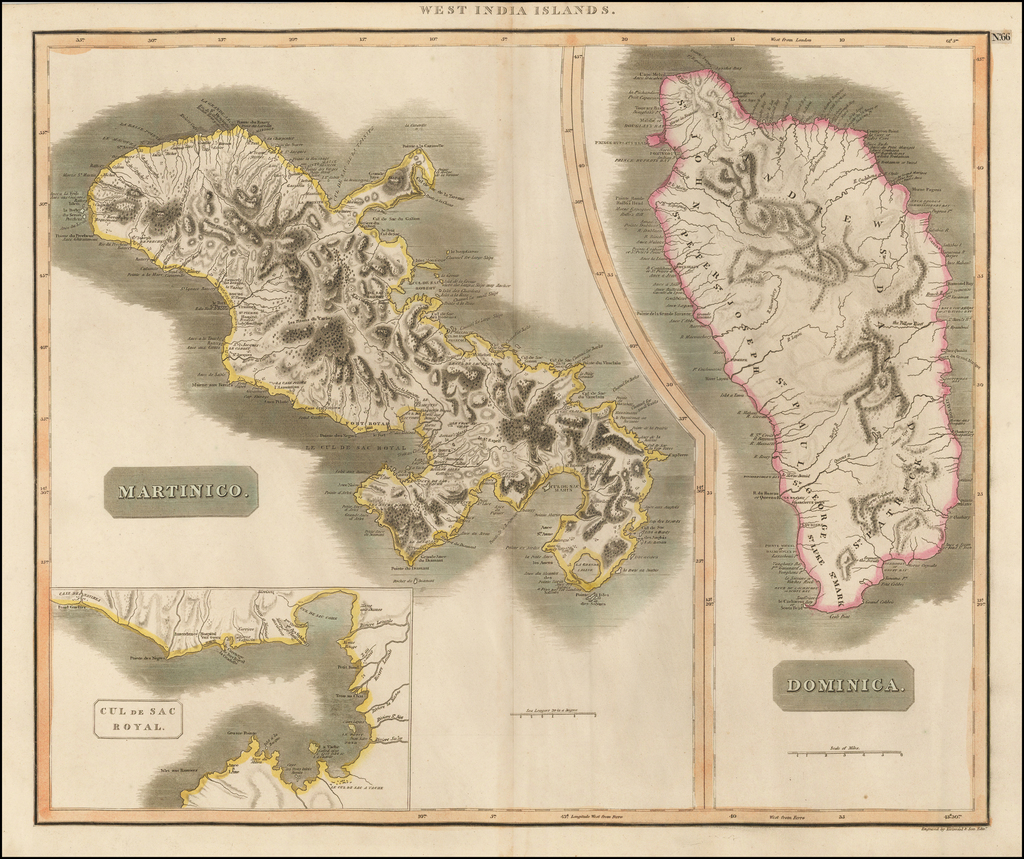 Martinico [and] Dominica By John Thomson