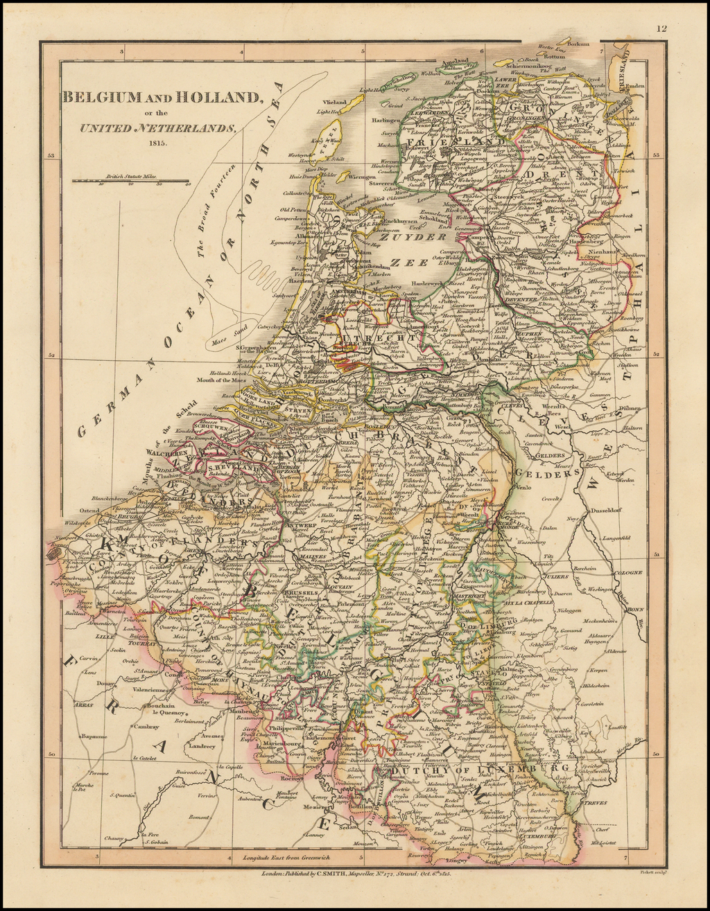 Holland and Belgium or the United Netherlands By Charles Smith