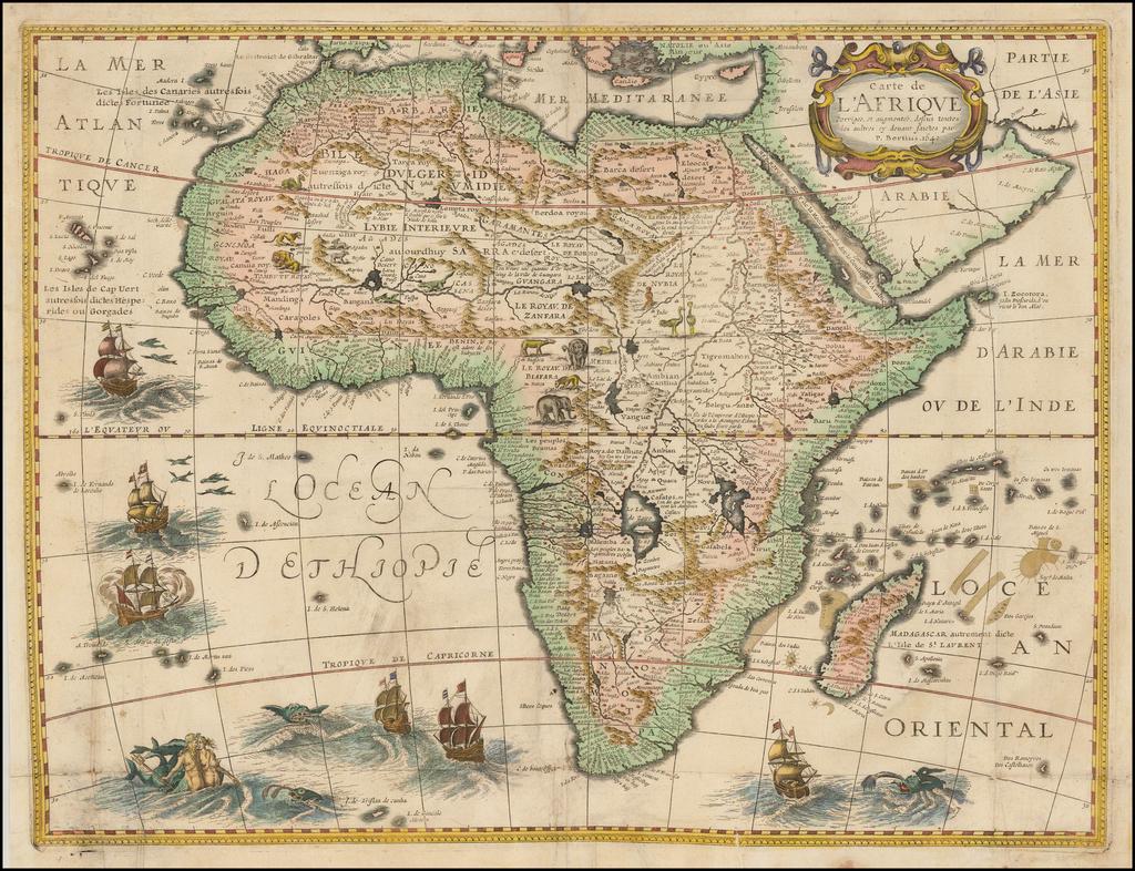 Carte Afrique Tl.Carte De L Afrique Corrigee Et Augmentee Dessus Toutes Les