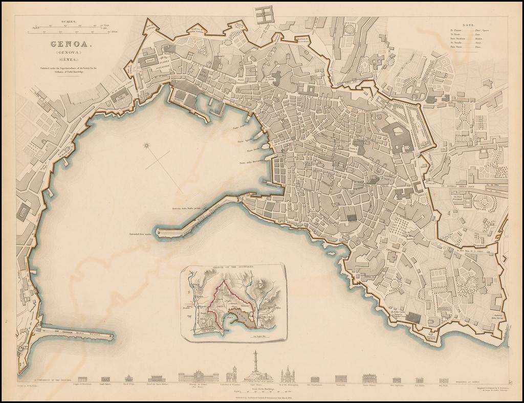 Genoa (Genova) (Genes) By SDUK