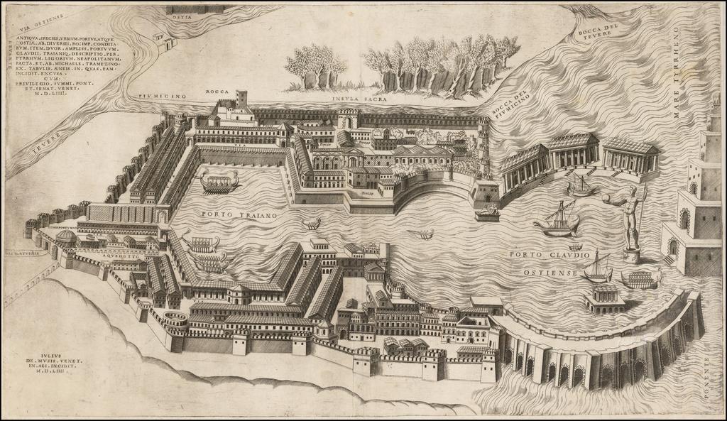 Ostia, the Harbor of Rome] Antiqua Species Urbium Portus