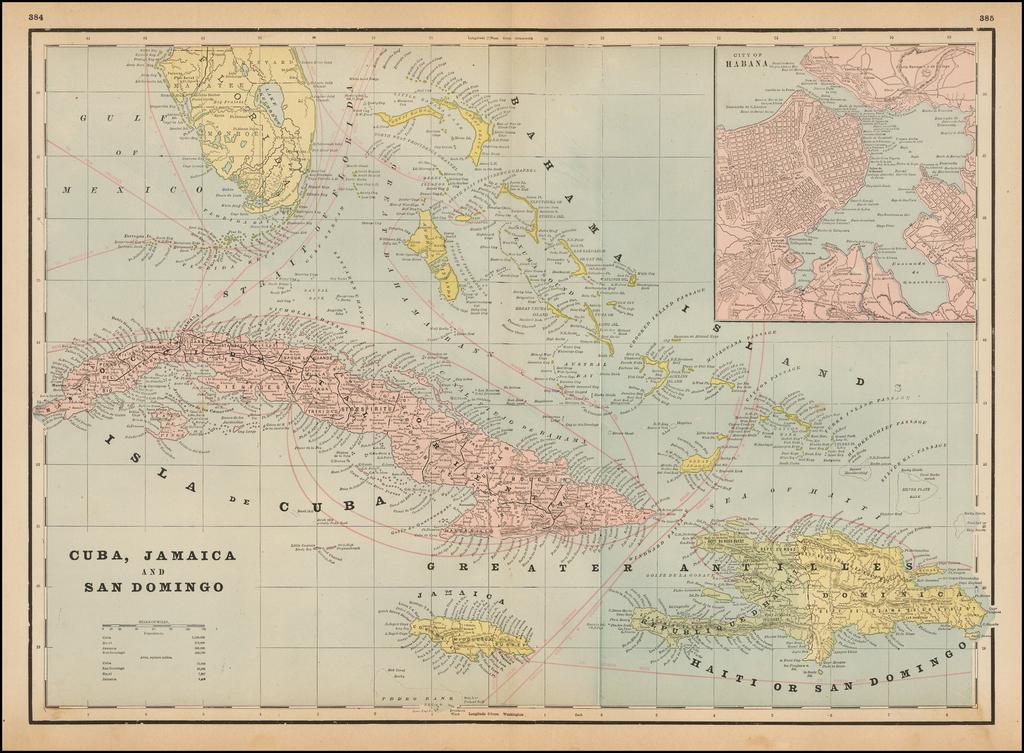 Cuba, Jamaica, and Santo Domingo By George F. Cram