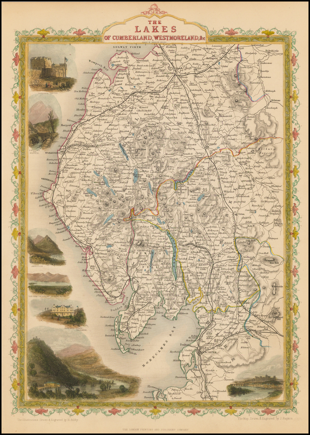 The Lakes, of Cumberland, Westmoreland, &c. By John Tallis