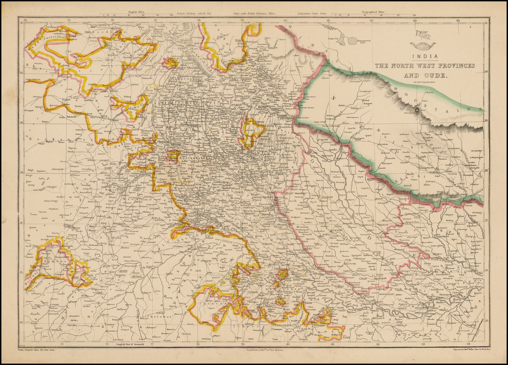 India -- The North West Provinces and Oude By Weekly Dispatch