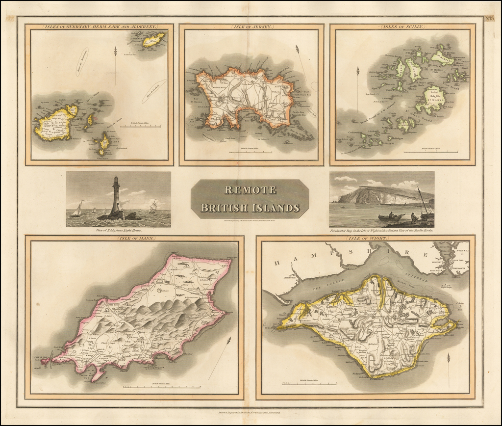 Remote British Islands (Isles of Wight, Guernsey, Herm, Sark, Alderney, Jersey, Scilly, and Mann) By John Thomson