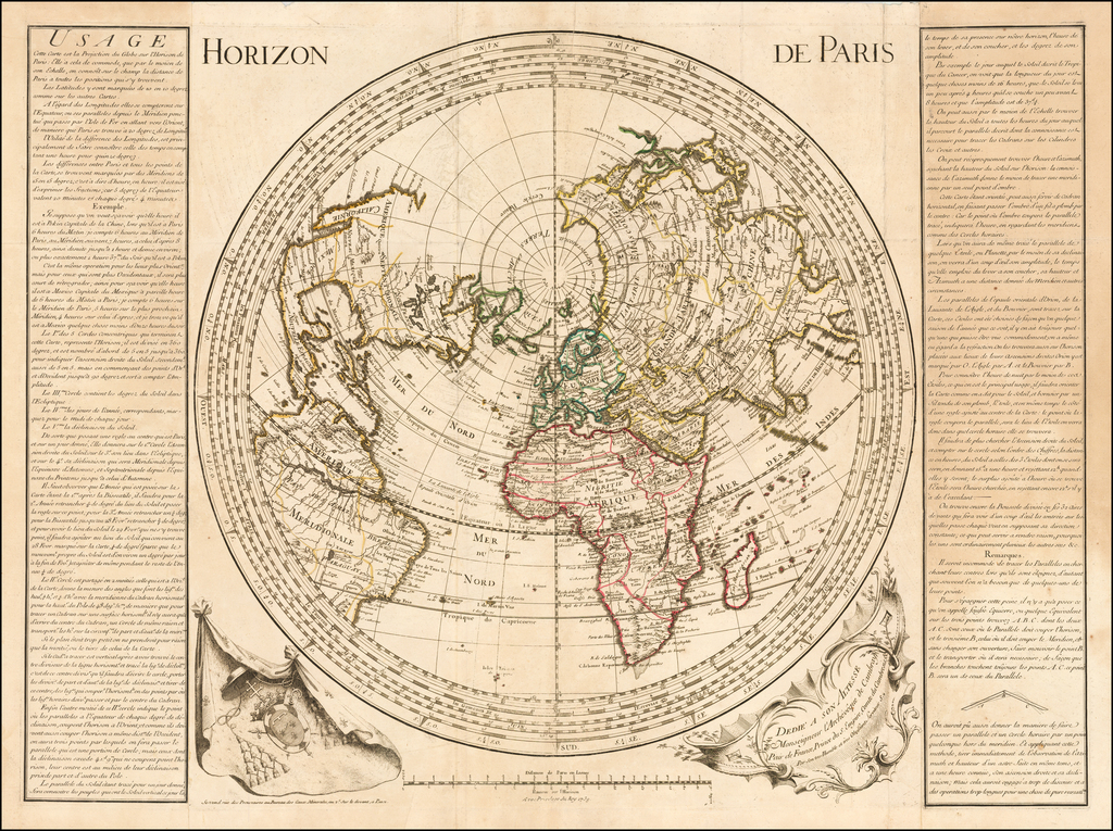 (Northern Hemisphere)  Horizon De Paris By Anonymous