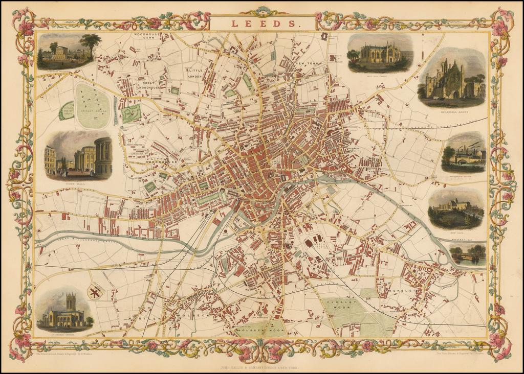 Leeds By John Tallis