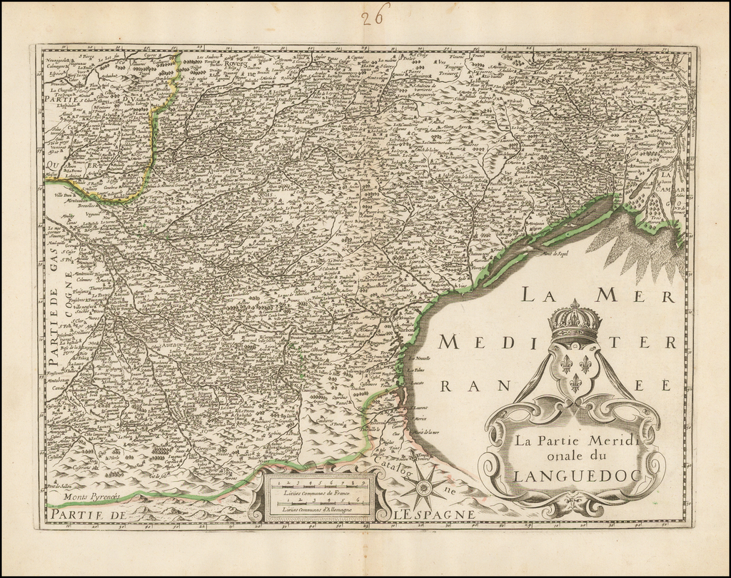 La Partie Meridionale du Languedoc By Anonymous