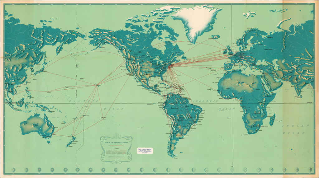 Pan American World Air System World's Most Experienced Airline . . . 1956 By Pan American World Airways