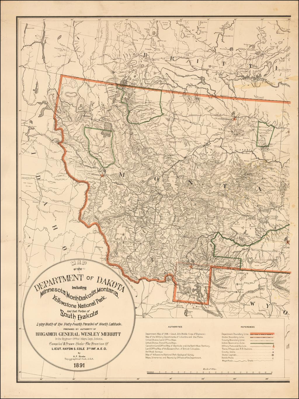 Montana Sheet] Map of the Department of Dakota. Including ... on wyoming-montana map south dakota, map of north and south dakota, map of idaho montana north dakota,