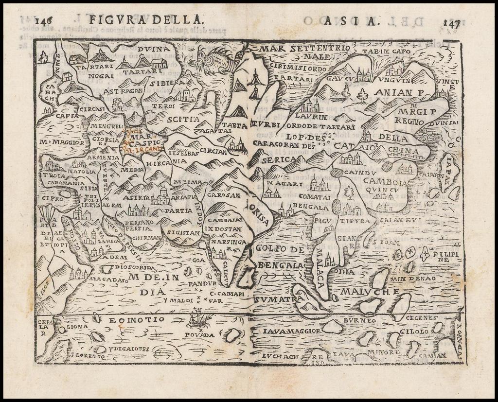 (Asia) By Giuseppe Rosaccio