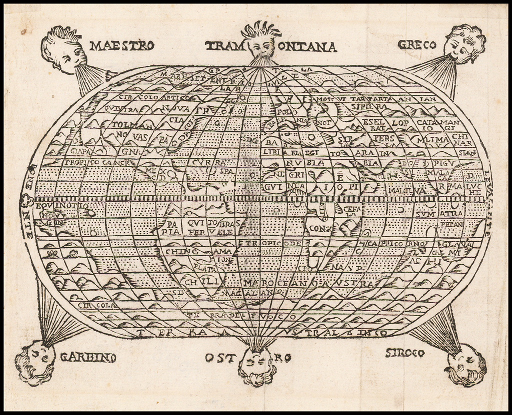 (World) By Giuseppe Rosaccio