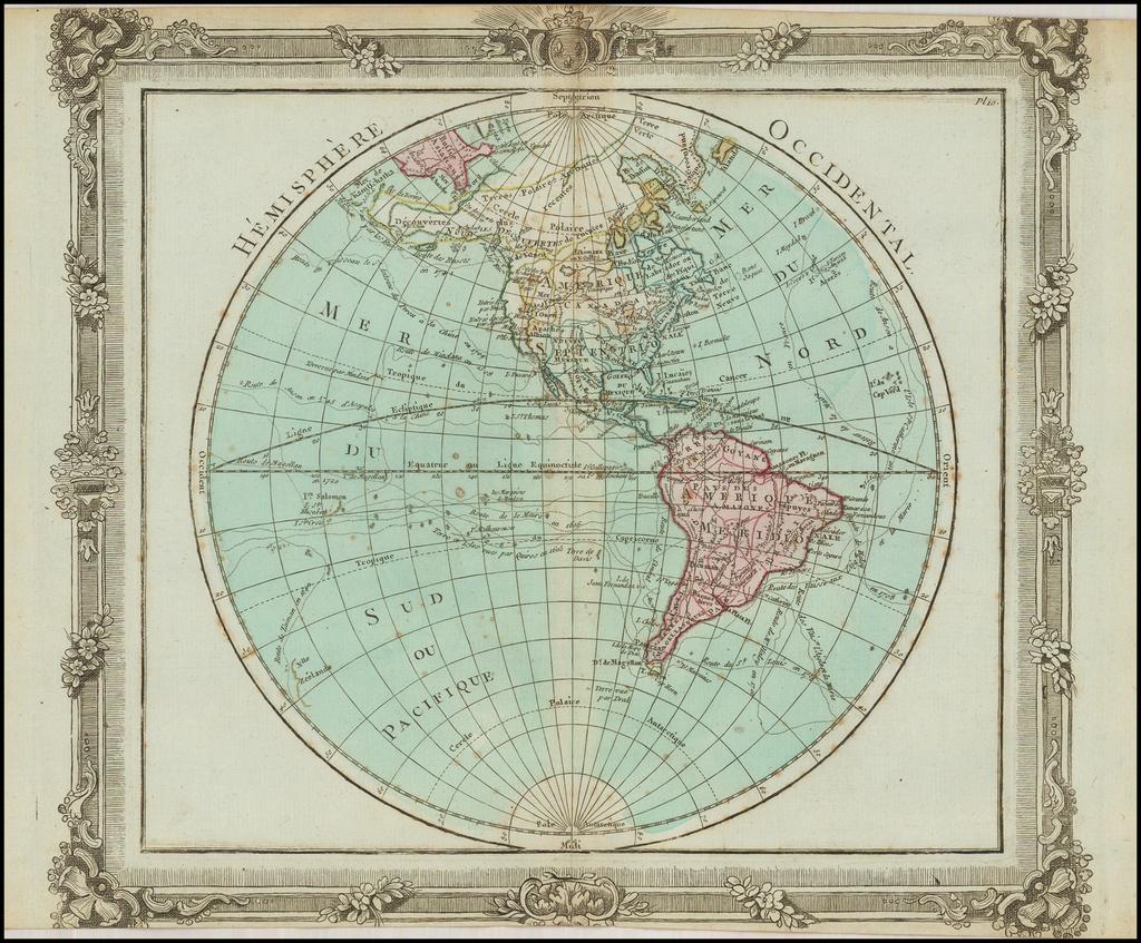 Hemisphere Occidental By Louis Brion de la Tour