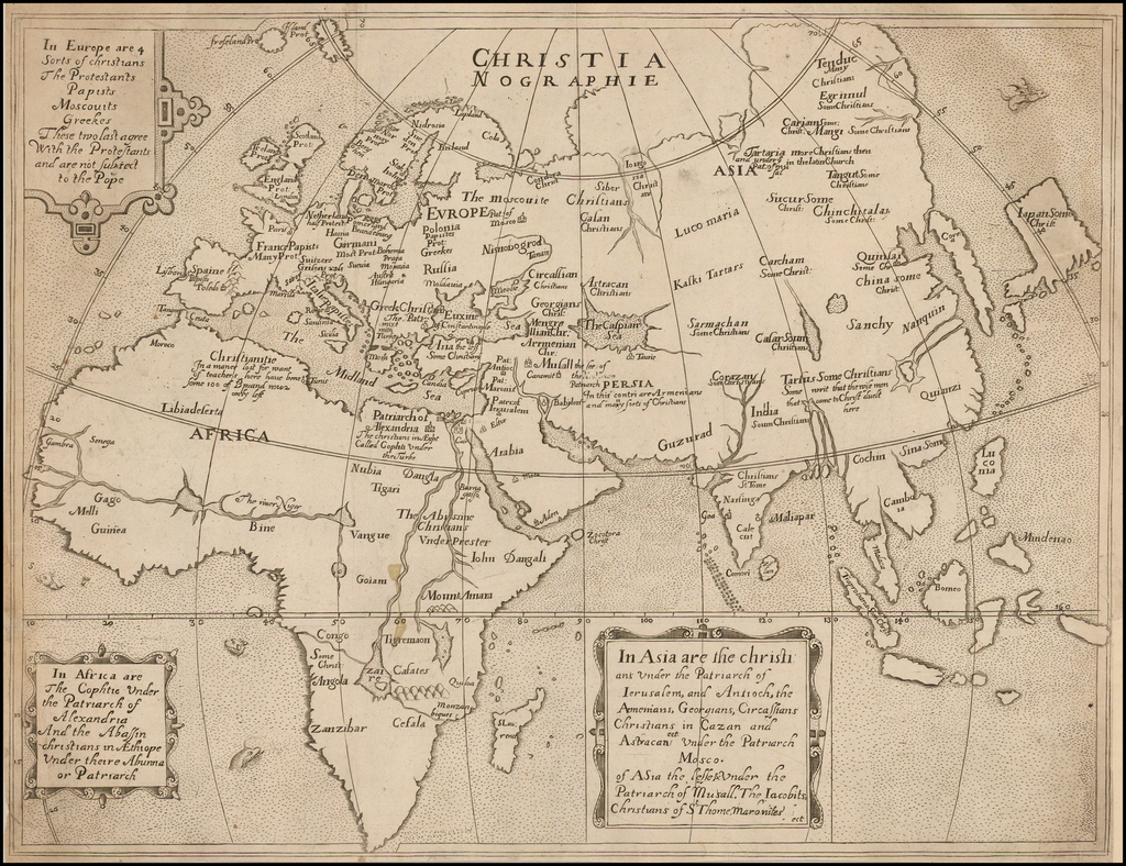 [Europe, Asia and Africa] By Ephraim Pagitt