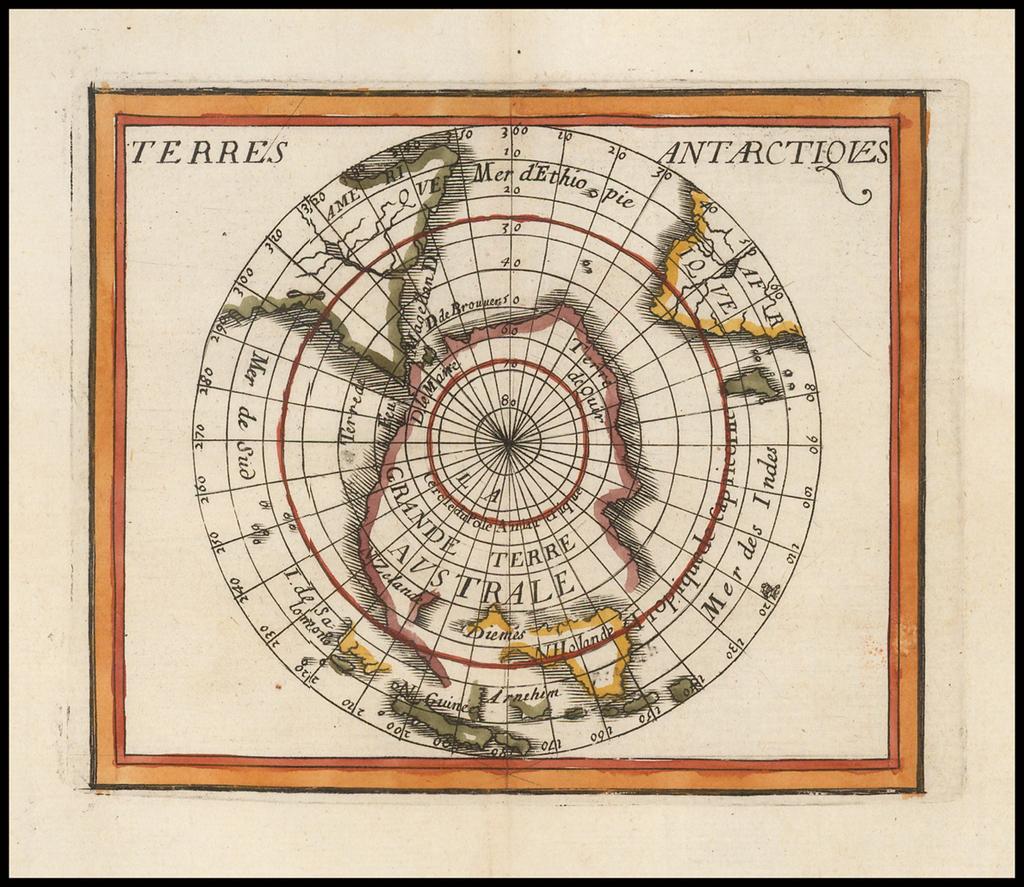 Terres Antarctiques By Pierre Du Val
