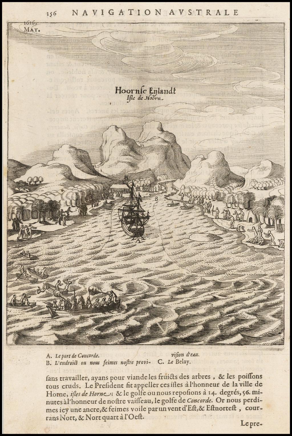 Hoornse Eijlandt By Antonio de Herrera y Tordesillas