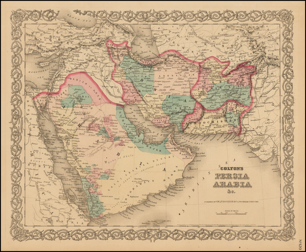 Persia Arabia &c. By Joseph Hutchins Colton