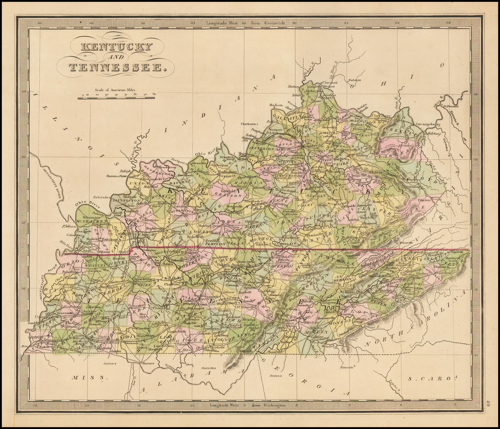 Kentucky and Tennessee By Jeremiah Greenleaf