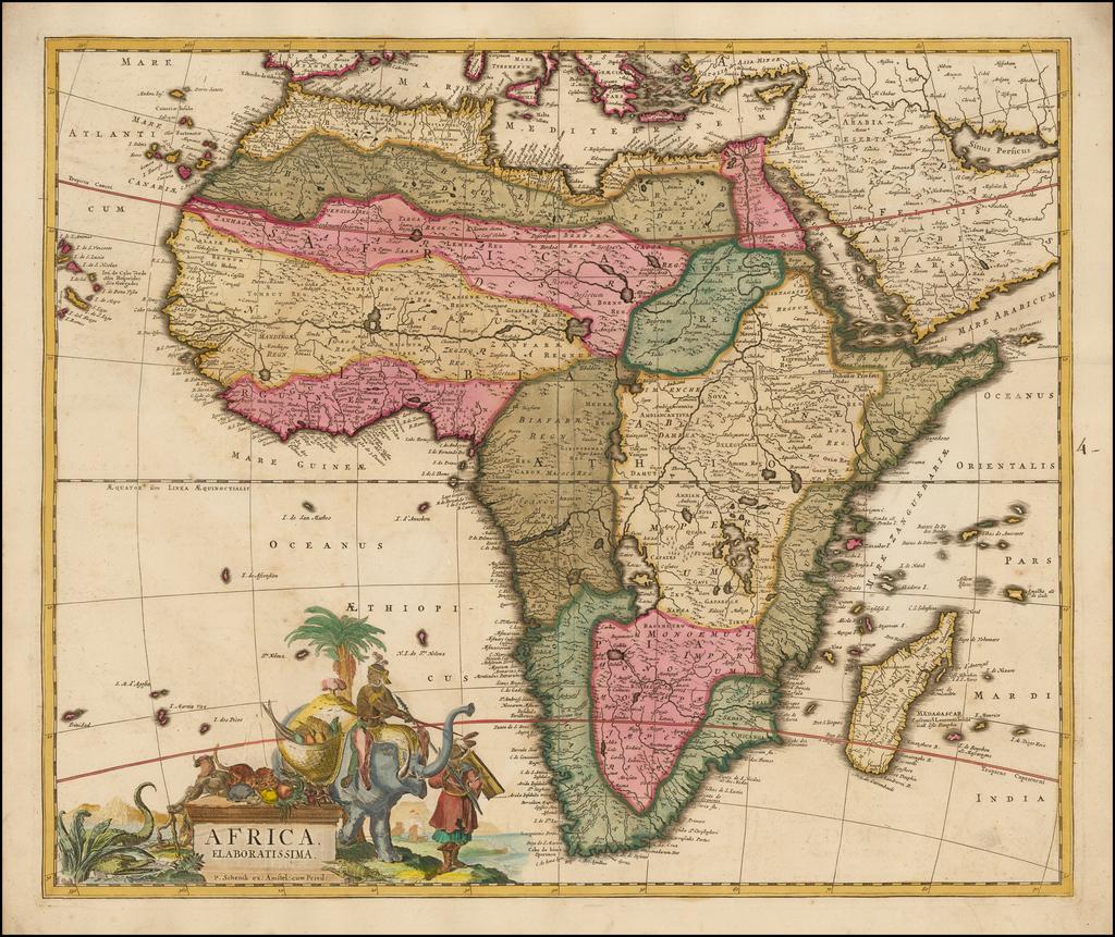 Africa Elaboratissima By Peter Schenk